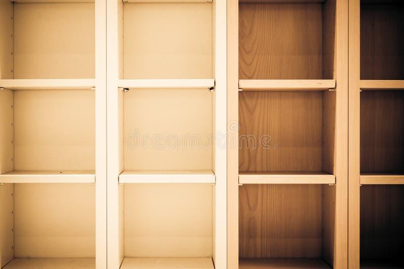 空的书架 库存图片