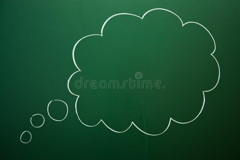 空的云彩箱子 库存例证