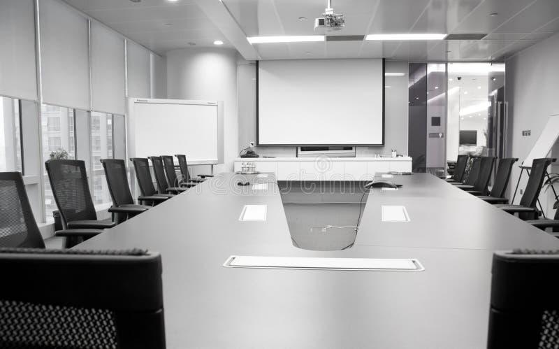 空的会议室 库存照片