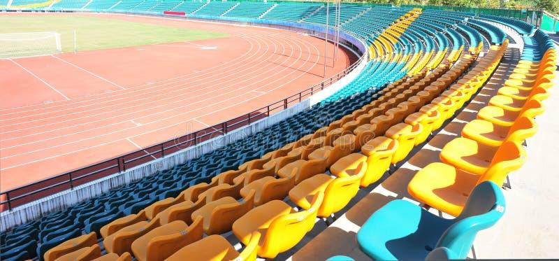 空的体育场 库存图片