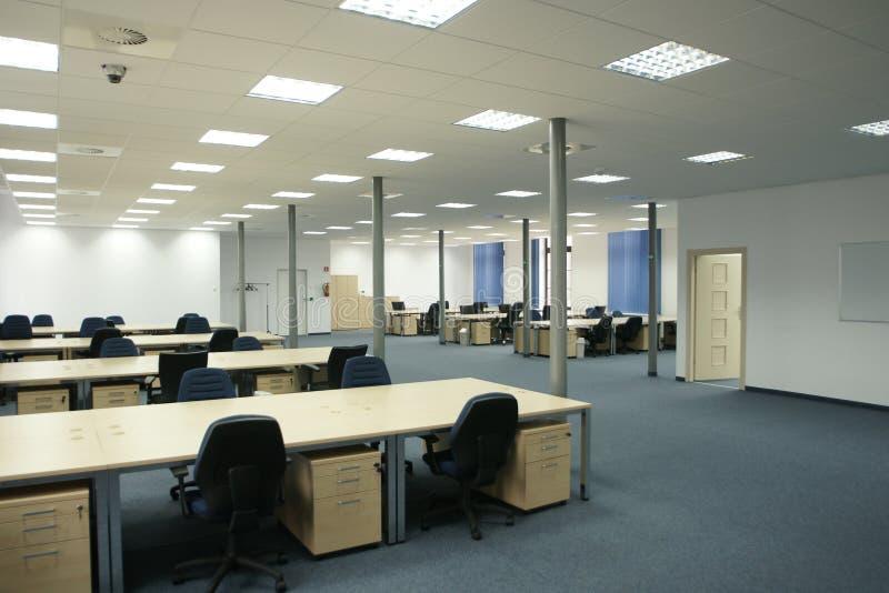 空的内部现代办公室露天场所 库存图片