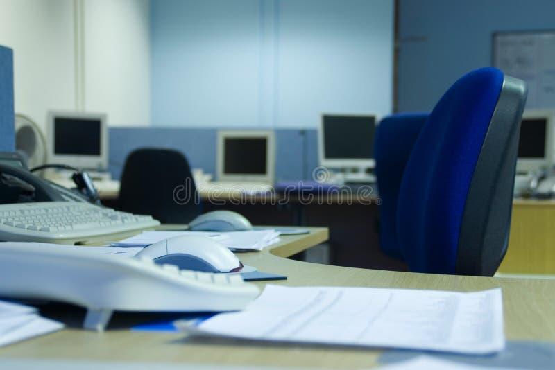空的办公室 免版税库存照片