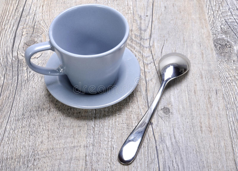 空的咖啡杯 免版税库存照片