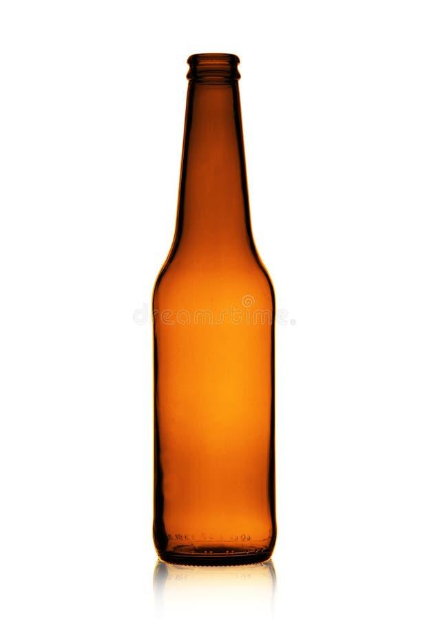 空的啤酒瓶 库存照片