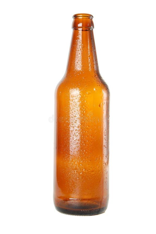 空的啤酒瓶 图库摄影