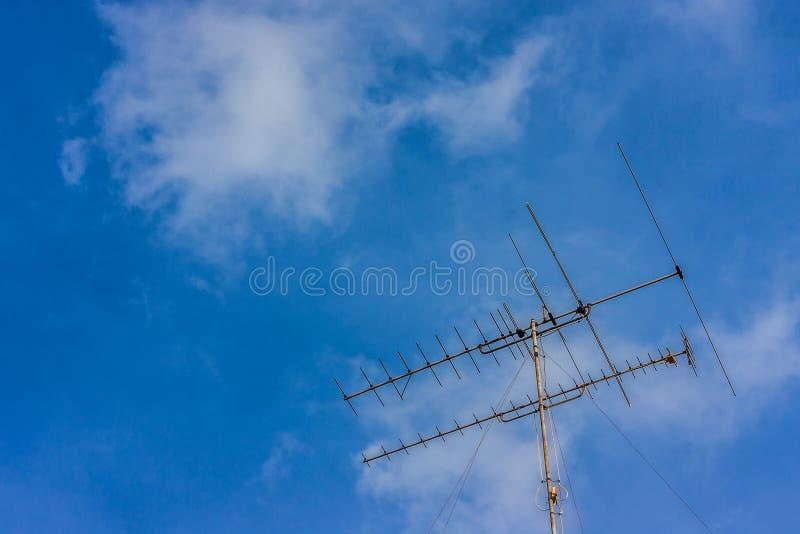 空的天空 库存照片