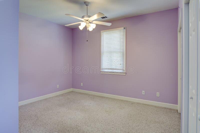 空的女孩卧室 免版税图库摄影