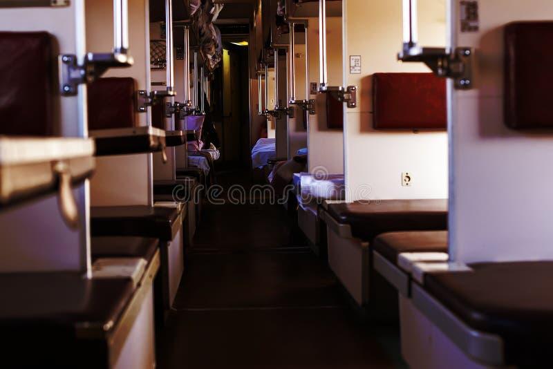空的客车,第二等 图库摄影