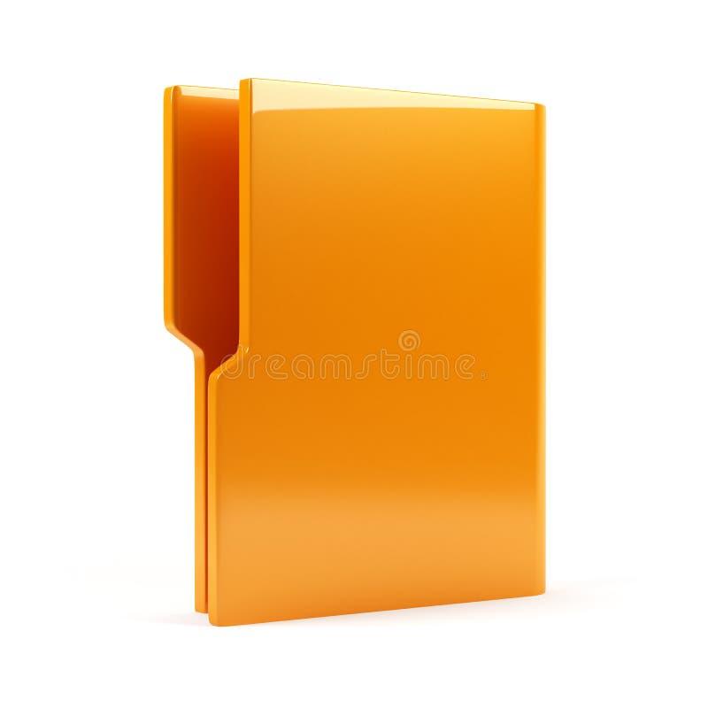 空的文件夹 库存例证