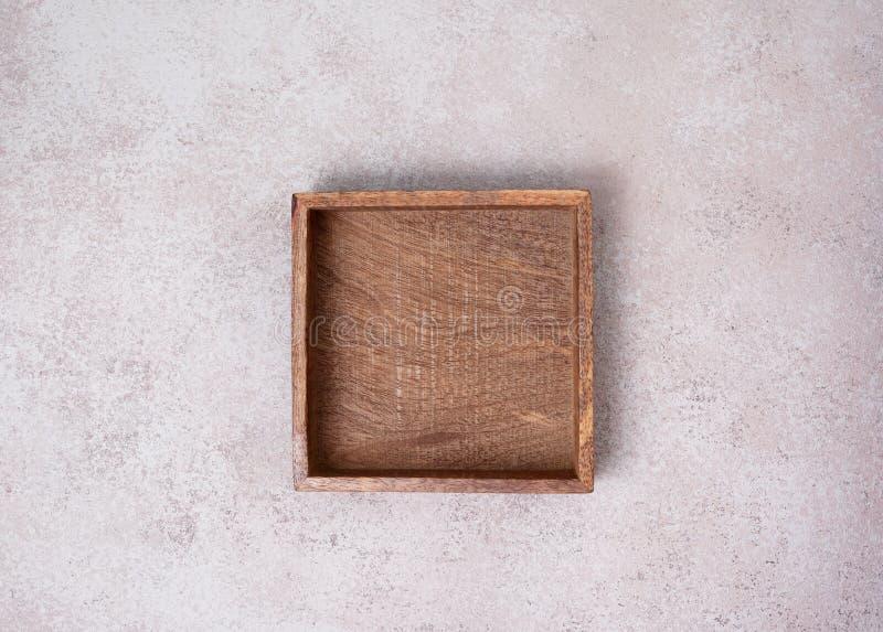 空的木箱 库存照片