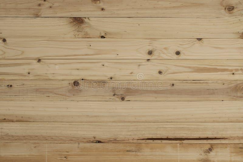 空的木背景 免版税库存图片
