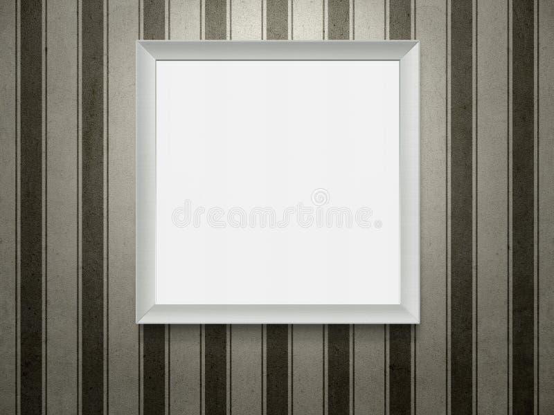 空的木画框 库存图片