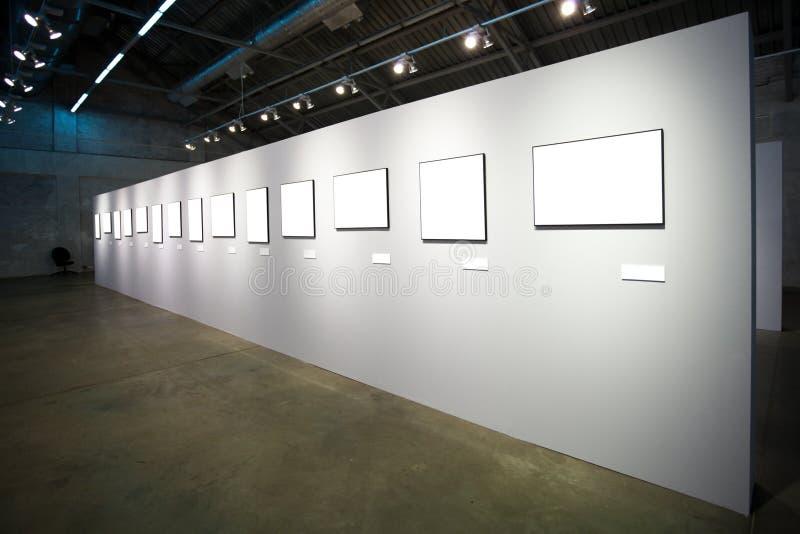空的框架许多围住白色 免版税图库摄影