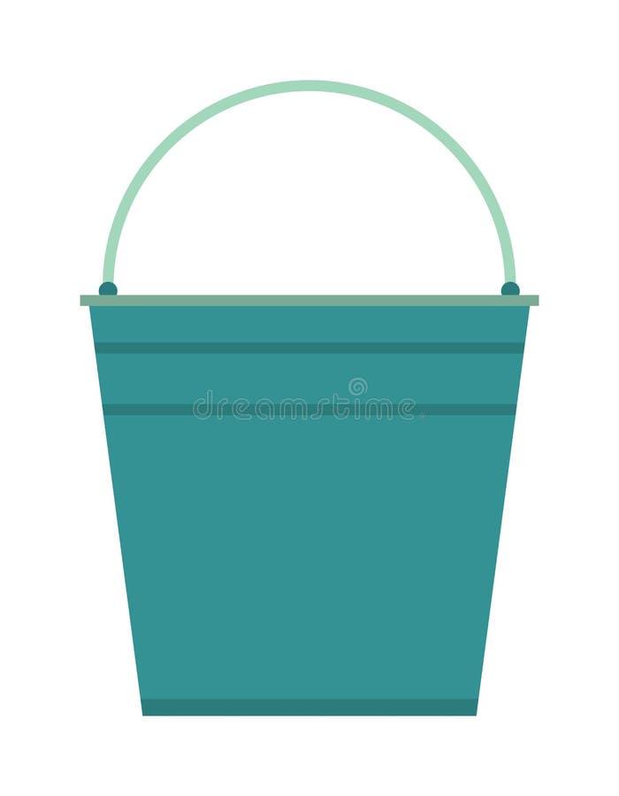 空的桶传染媒介例证象 向量例证