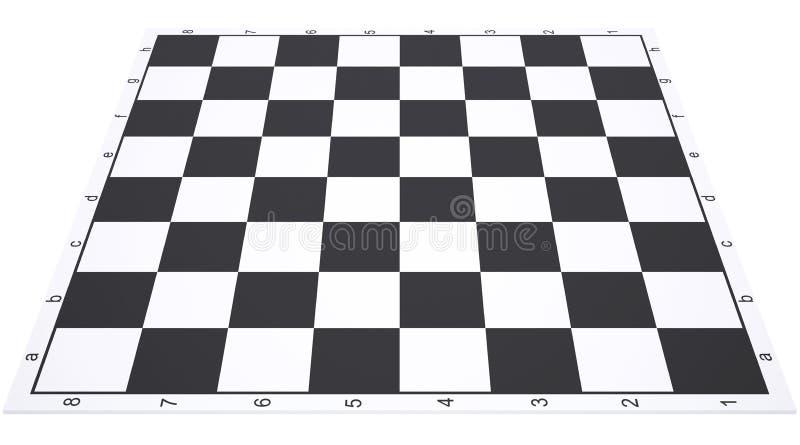 空的棋枰 库存例证