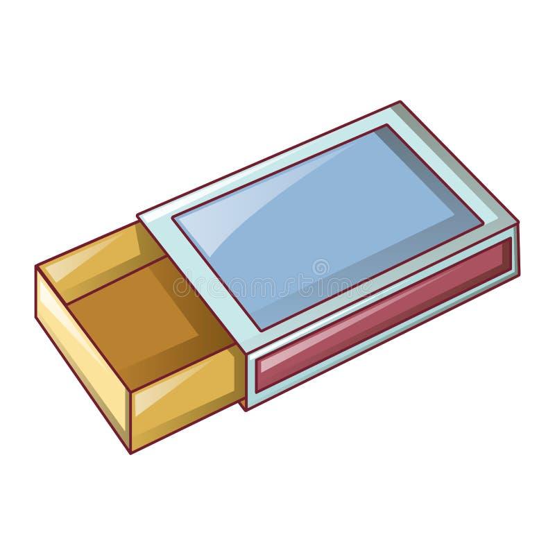 空的比赛箱子象,动画片样式 向量例证