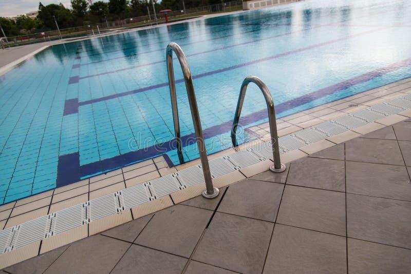 空的池游泳 图库摄影