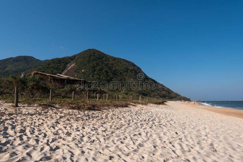 空的海滩 库存图片