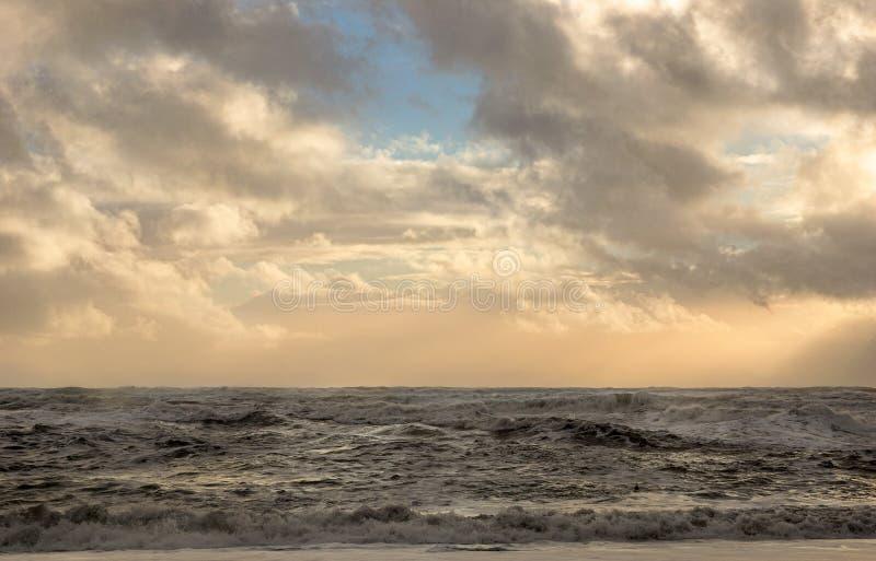 空的海洋 免版税库存照片
