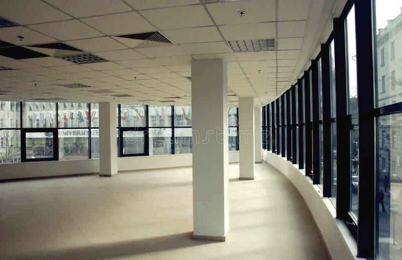 空的现代办公室空间 免版税库存照片