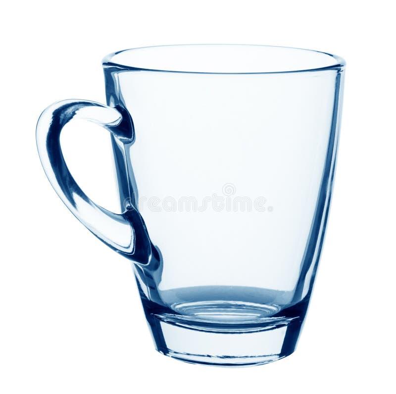 空的玻璃杯子 免版税库存照片