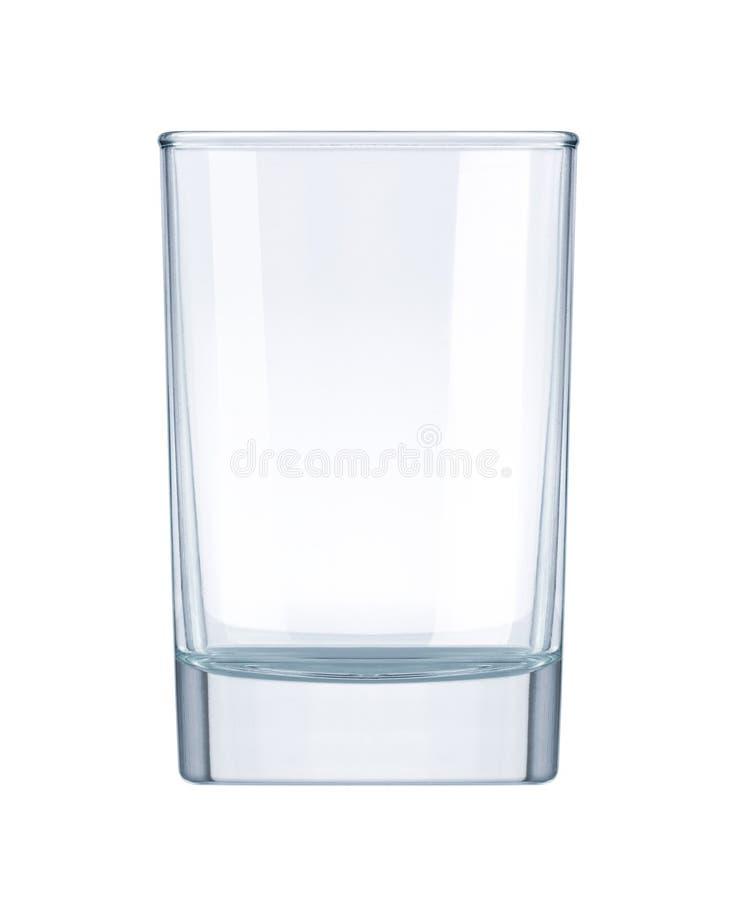 空的玻璃 免版税库存照片