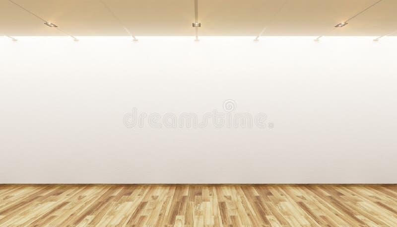 空的画廊 库存照片