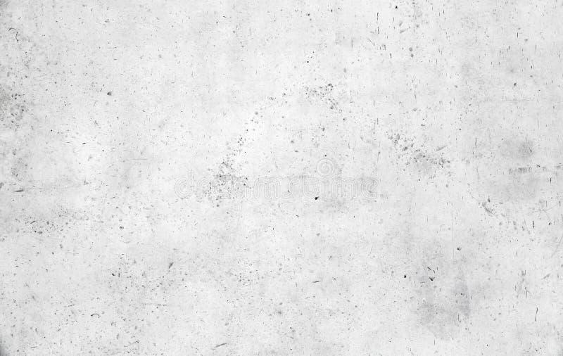 空的白色混凝土墙纹理 库存图片