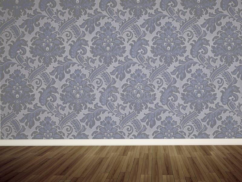 空的空间墙壁 免版税库存图片