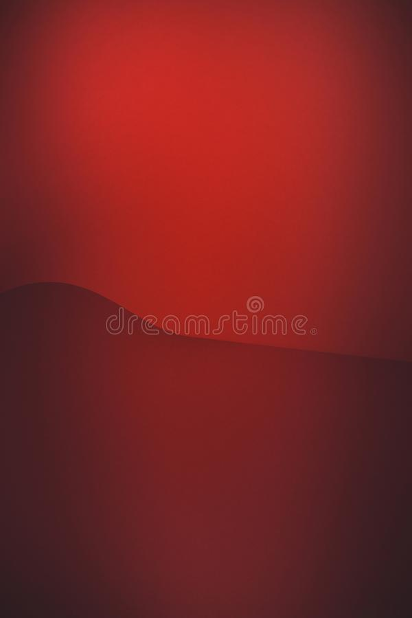 空的红色抽象纸背景 库存图片