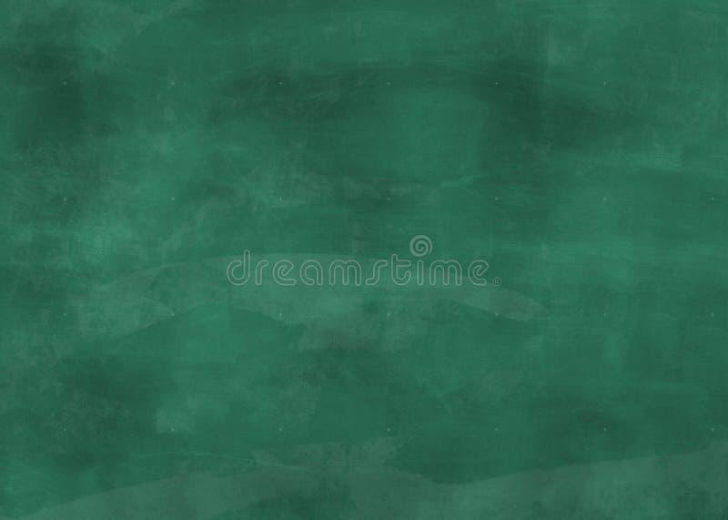 空的绿色黑板背景 库存照片