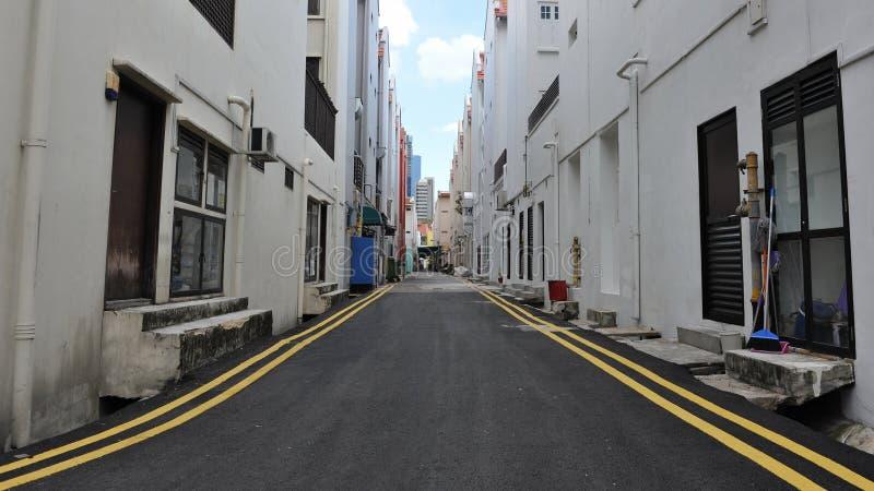 空的街道 库存图片