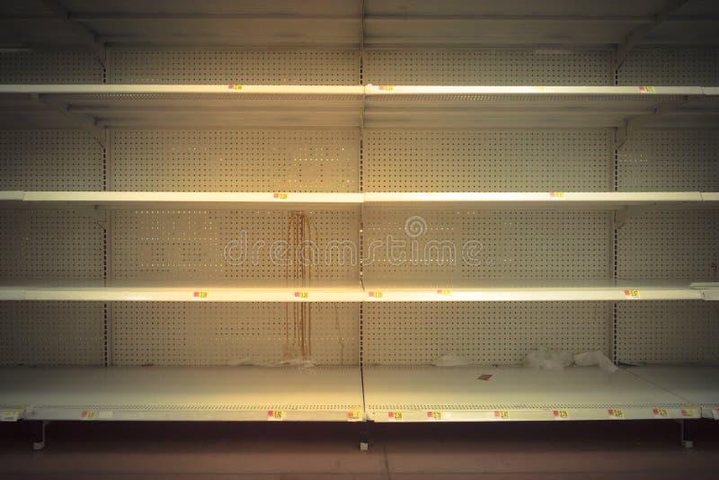 空的货架 库存图片