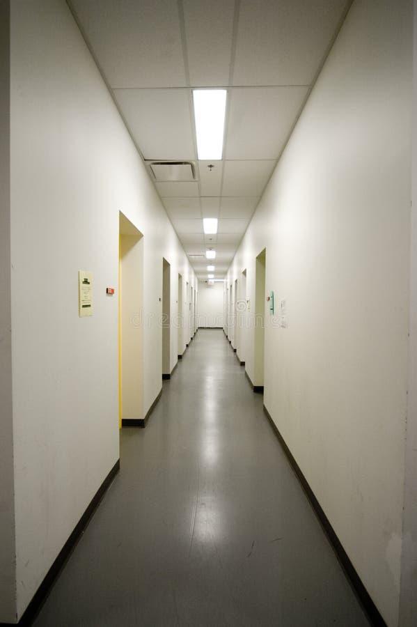 空的走廊 免版税库存照片
