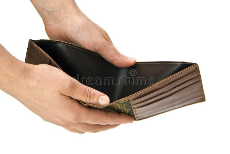 空的钱包 库存照片