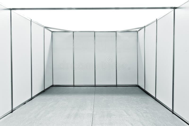 空的陈列公平的立场空间 库存图片