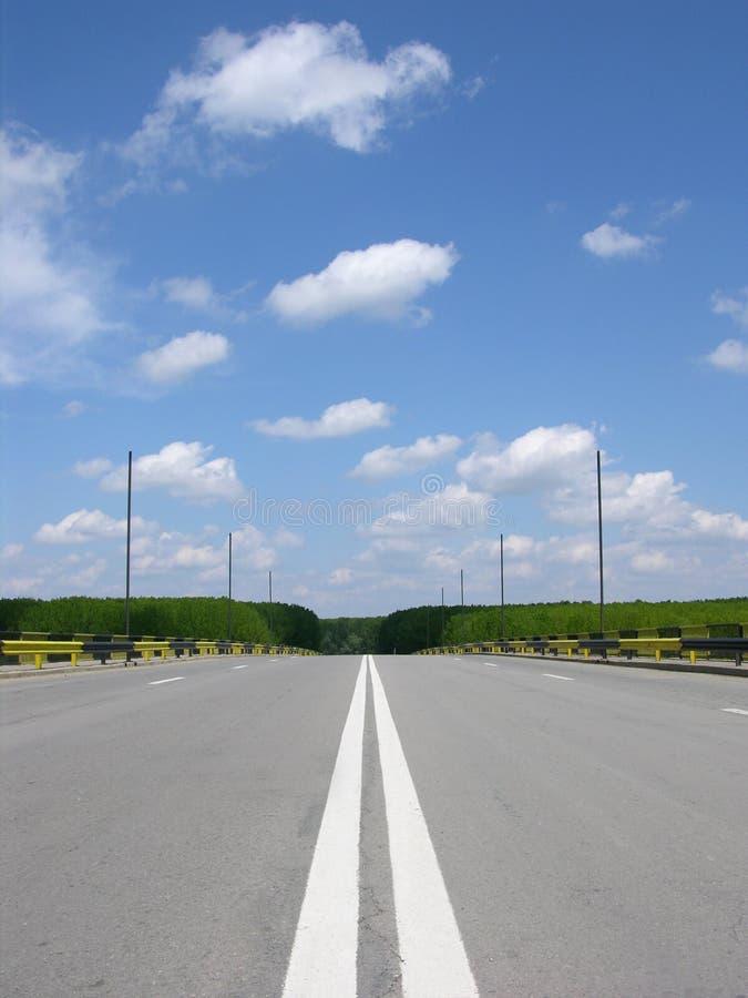 空的高速公路 免版税库存照片