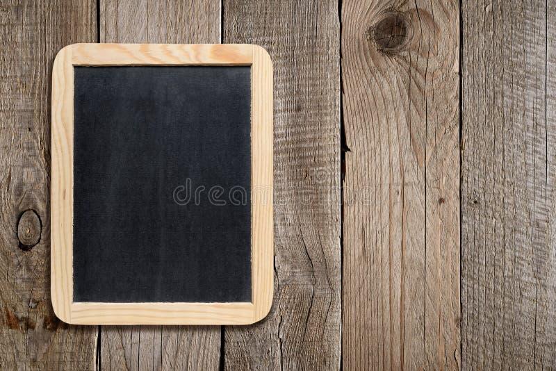 空的黑板 免版税库存照片