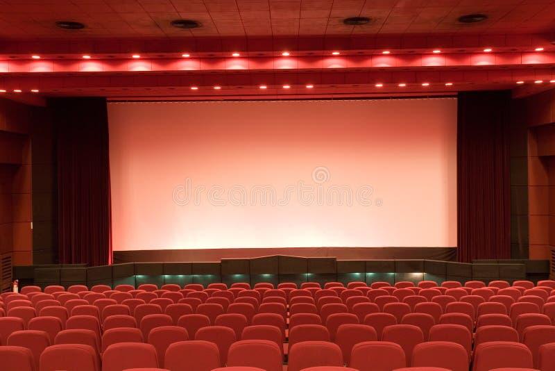 空观众席的戏院 库存照片