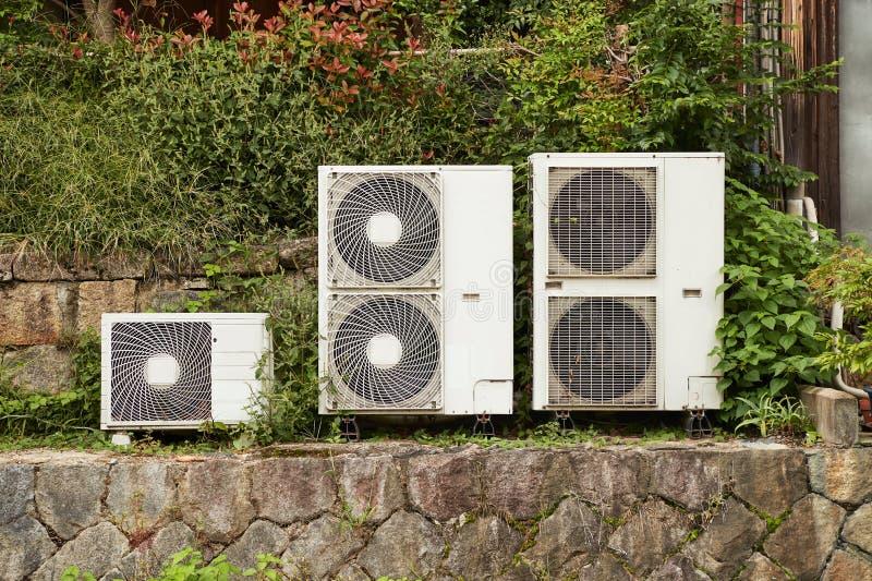 空调器外部单位 库存图片