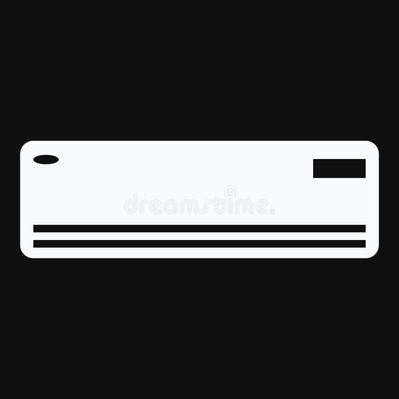 空调器象 透气和适应的系统 库存例证