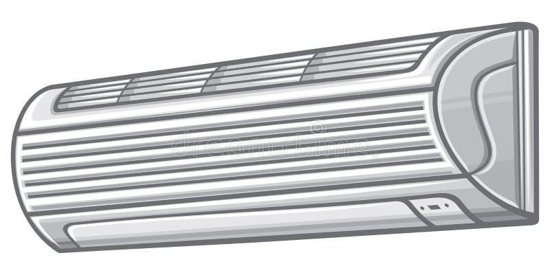 空调器 向量例证