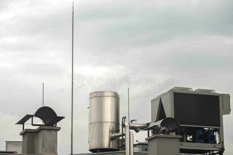 空调装置设备 免版税图库摄影