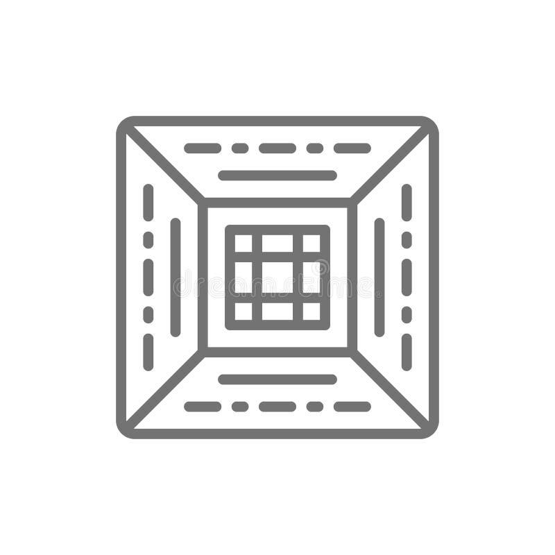 空调过滤器,中央空调线象 皇族释放例证