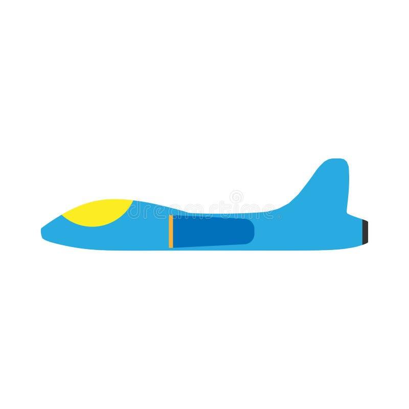 空间战斗机侧视图平的传染媒介象 飞行运输航空航天作战技术飞机 皇族释放例证