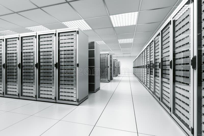 空间服务器 库存例证