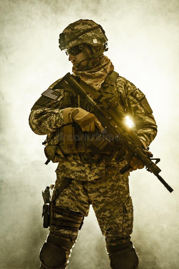 空降步兵 图库摄影