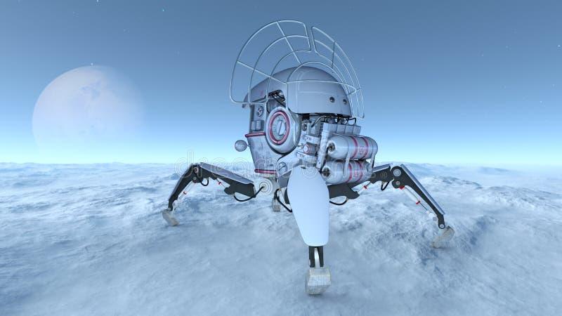 Download 空间探索 库存例证. 插画 包括有 探测, 天堂般, 无体, 幻想, 探险, 观察, 太空飞船, 星形, 技术 - 59106923