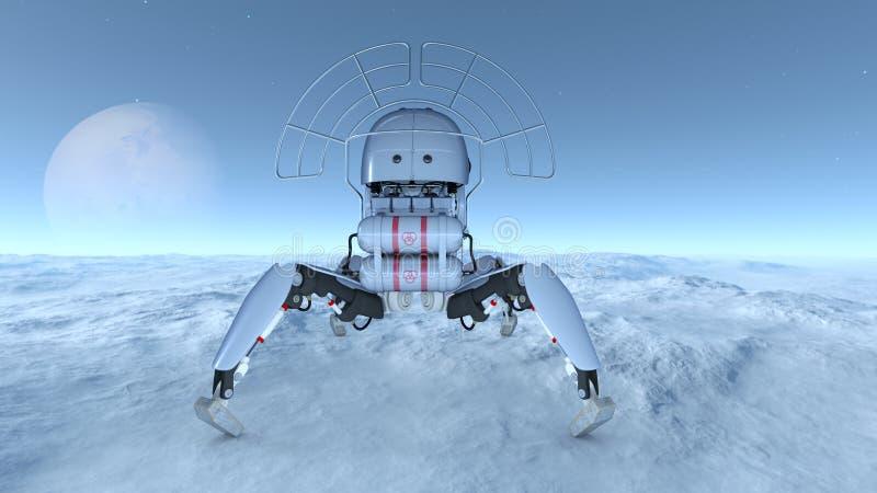 Download 空间探索 库存例证. 插画 包括有 幻想, 空间, 无体, 技术, 观察, 科学, 探测, 天堂般, 太空飞船 - 59106924