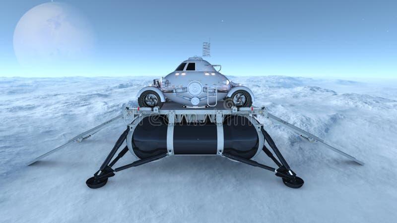 Download 空间流浪者 库存例证. 插画 包括有 天堂般, 通信工具, 汽车, 探险, 行星, 商业, 科学, 根据 - 59106915